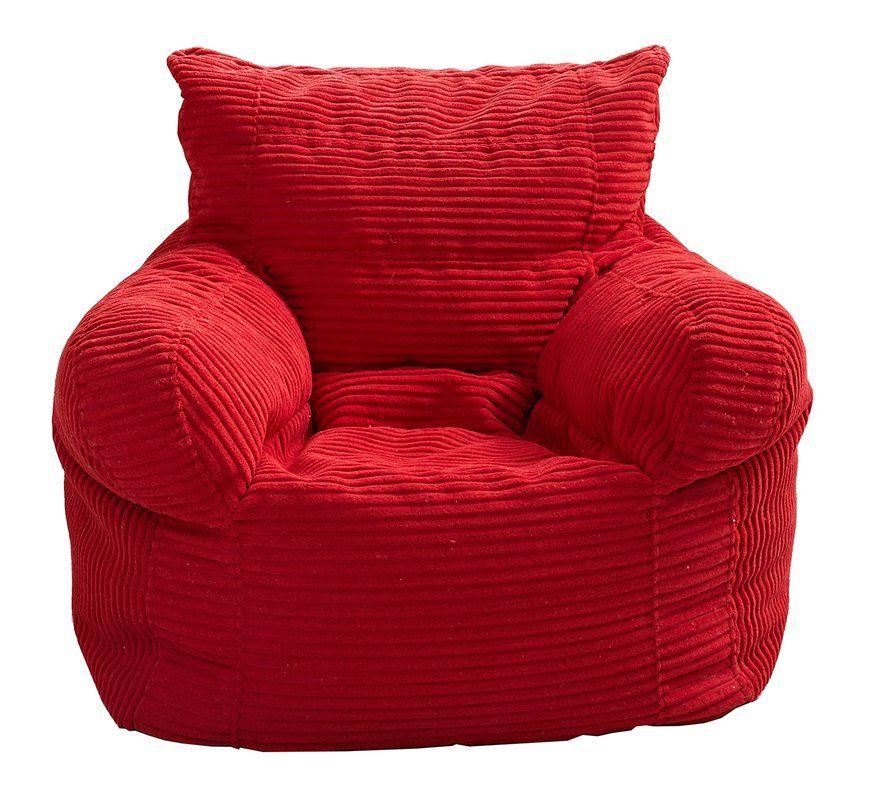 Small Velvet Bean Bag Chair Amp Lounger Bean Bag Chair