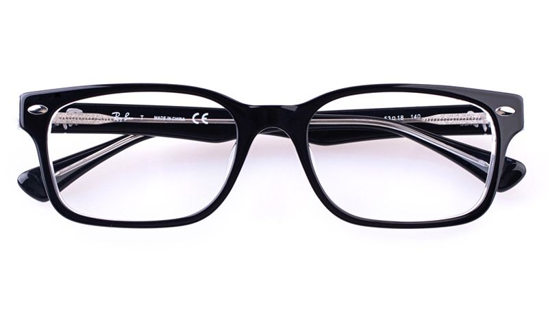 9f57363b0a Ray-Ban RB5286F Acetate Mens Womens Square Full Rim Optical Glasses for  Fashion