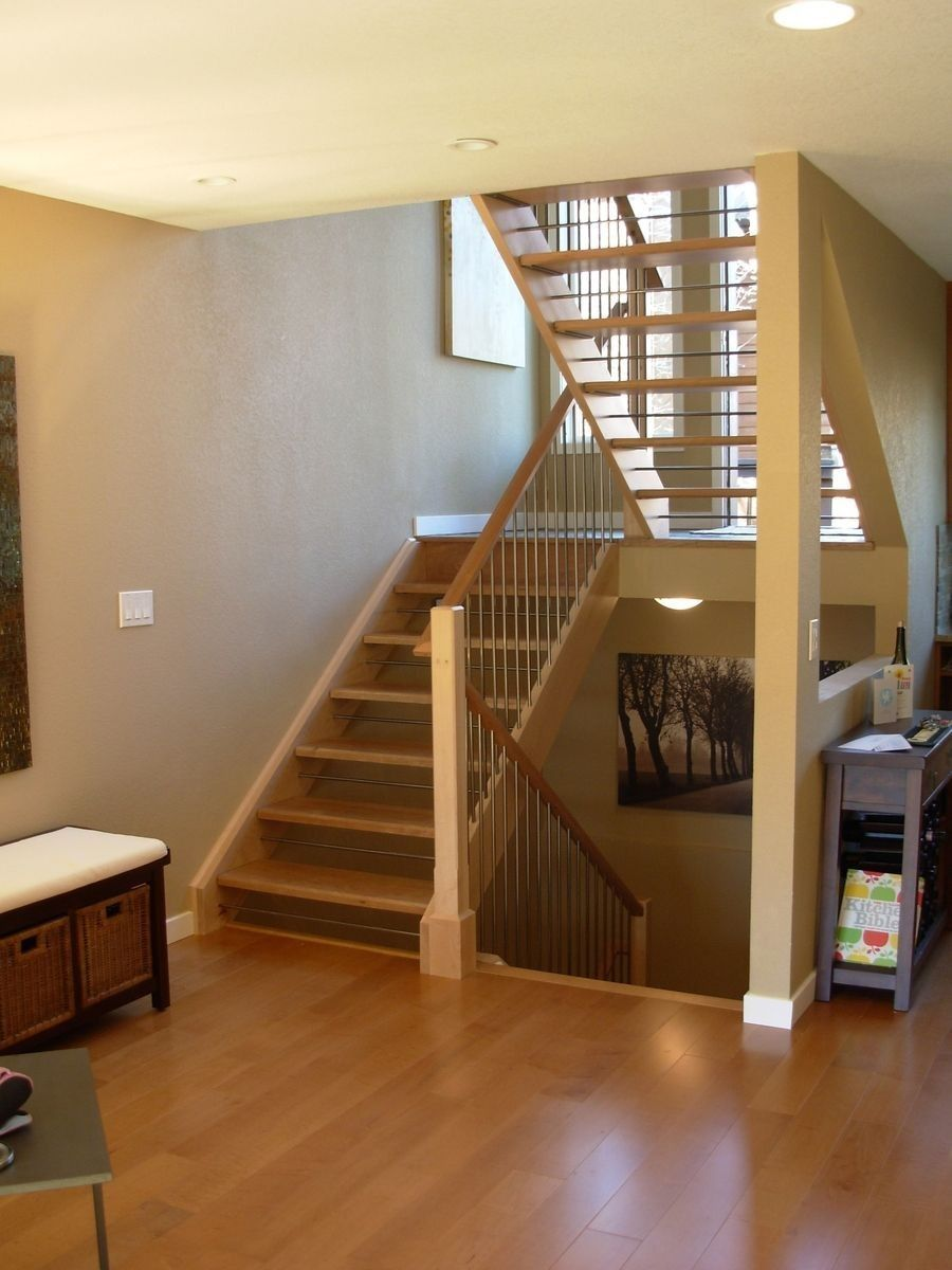 Best Basement Stairs In 2020 Open Staircase Staircase Open 640 x 480