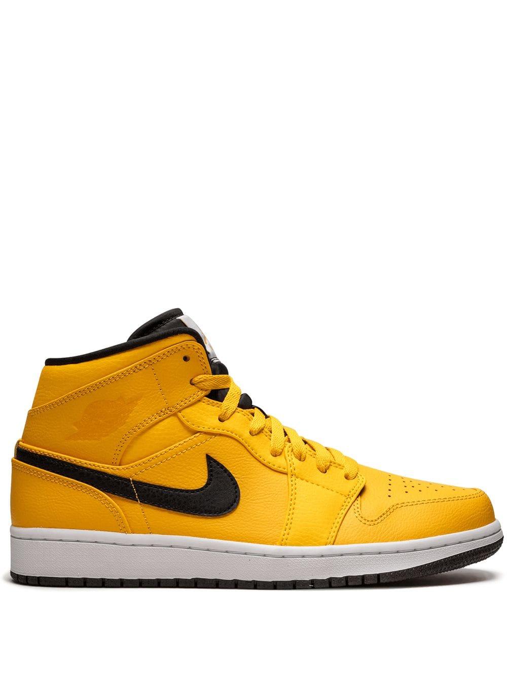 yellow jordans 1