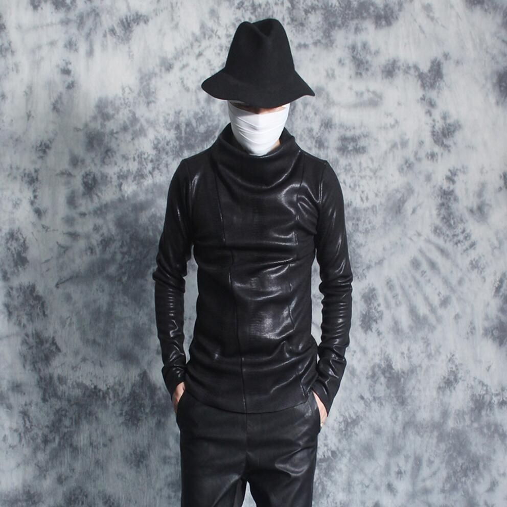 Autumn and winter male turtleneck hoodies men personality tide