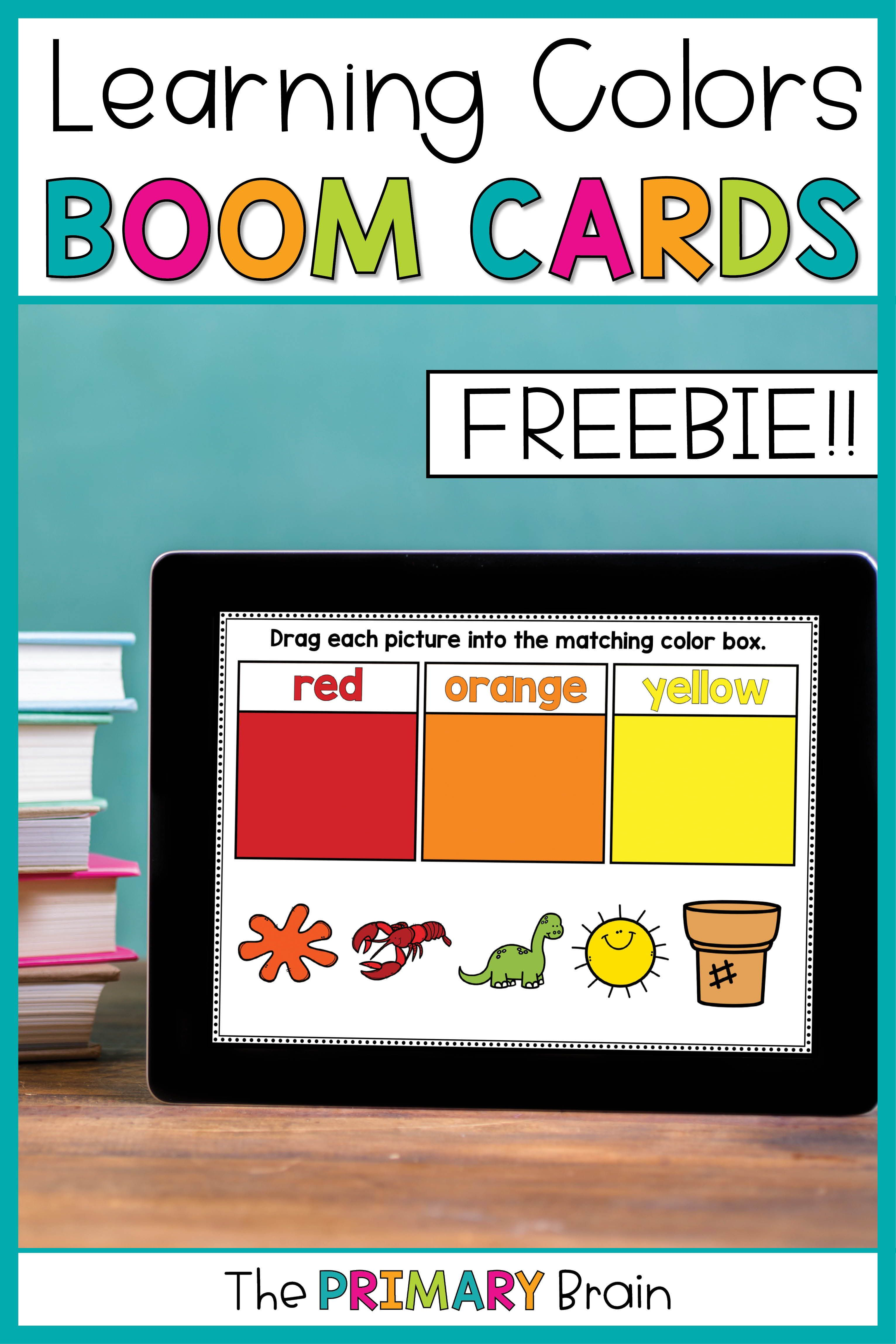 Colors Boom Cards Distance Learning Color Sorting Task Cards Digital Learning Classroom Learning Colors Digital Learning Activities [ 4592 x 3063 Pixel ]