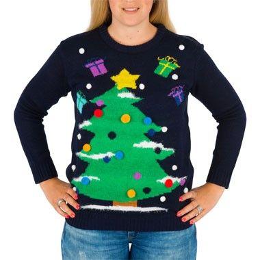 Kersttrui Maat L.Kersttrui Xmas Tree Met Verlichting M L Pinterest Verlichting