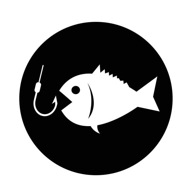 Fishing Icon Vector And Png Fish Icon Free Vector Illustration Font Illustration