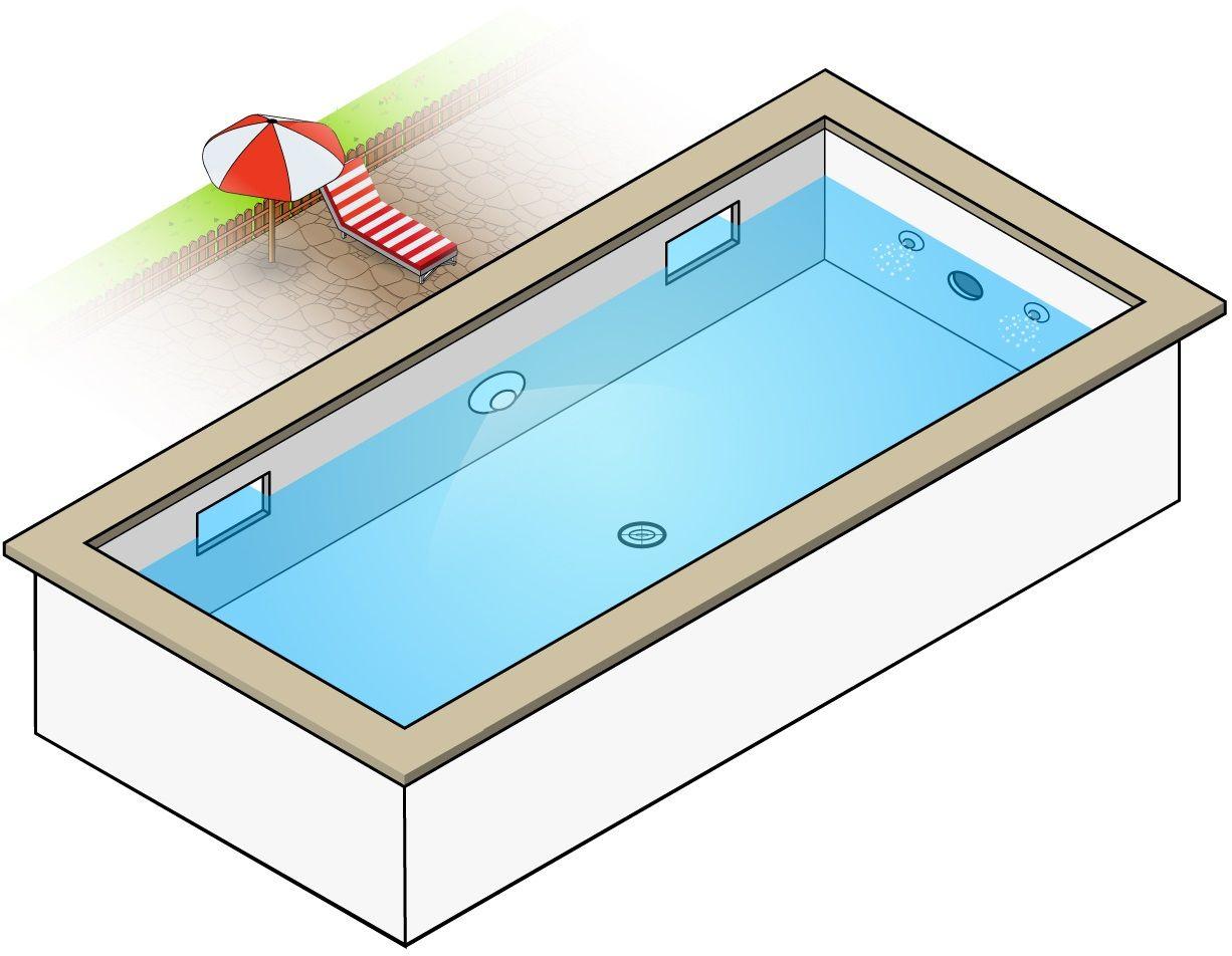 Schema Pieces A Sceller Piscine Quel Emplacement Piscine Robot De Piscine Bassin