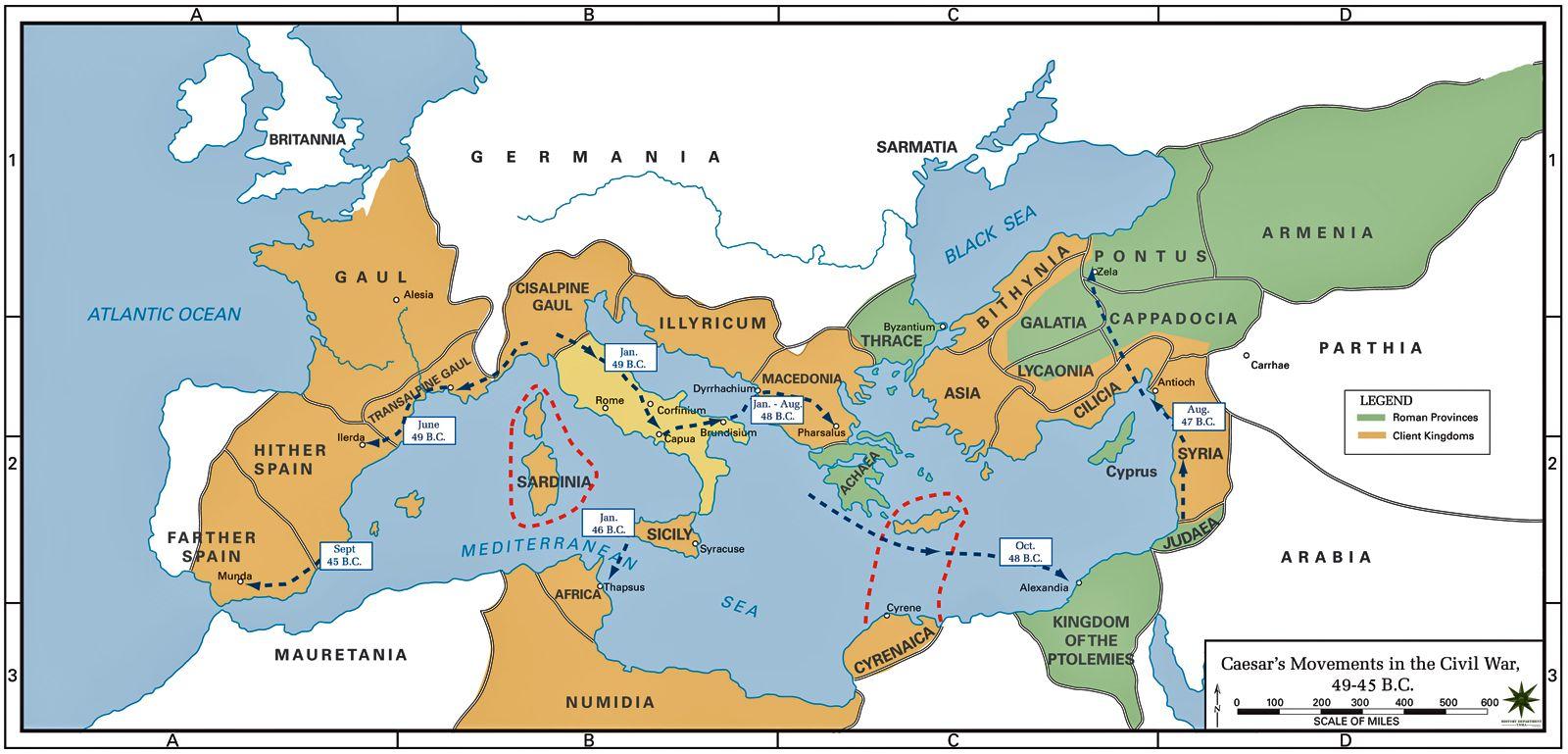 roman empire augustus map 40 Maps That Explain The Roman Empire Roman Empire Byzantine roman empire augustus map