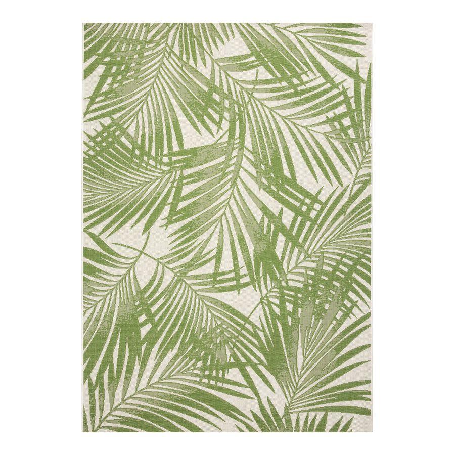 Photo of Garden Treasures – Alfombra de área costera de interior / exterior de color verde palmera brillante (común: 8 X 10; real: 8 pies F x 10 pies L) 31228146-8