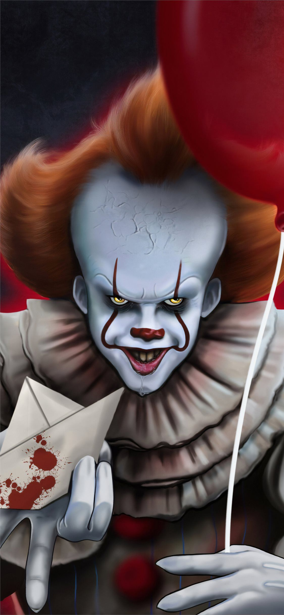 It Chapter Two 2019 4k Pennywise Art Scary Wallpaper Scary Backgrounds Pennywise
