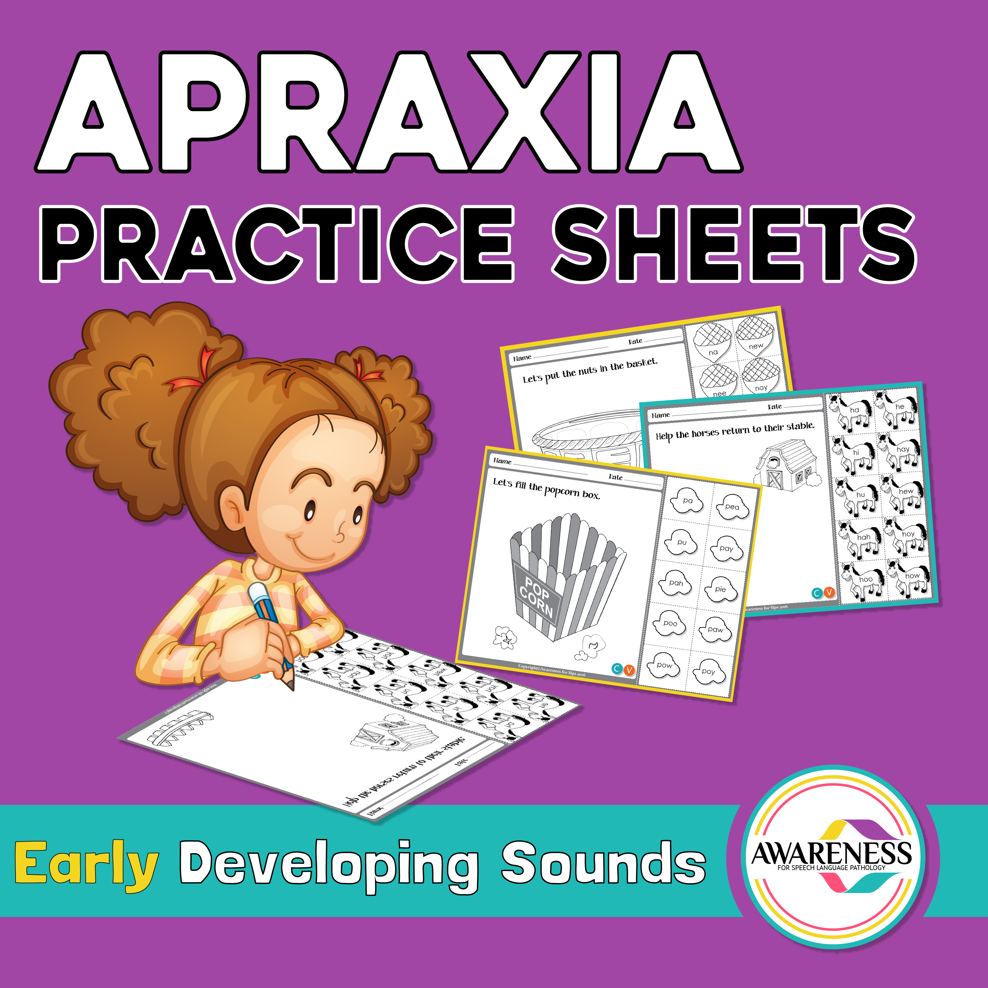 Childhood Apraxia Of Speech Activity