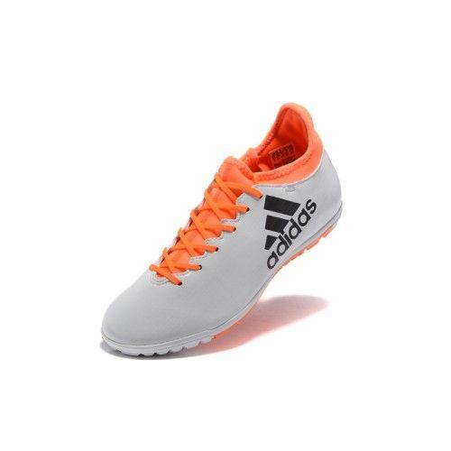 buy online ff873 4bf1d Botas de Fútbol Botas De Futbol Adidas Baratas Venda Comprar Comprar Adidas  X TF Blanco Naranja .