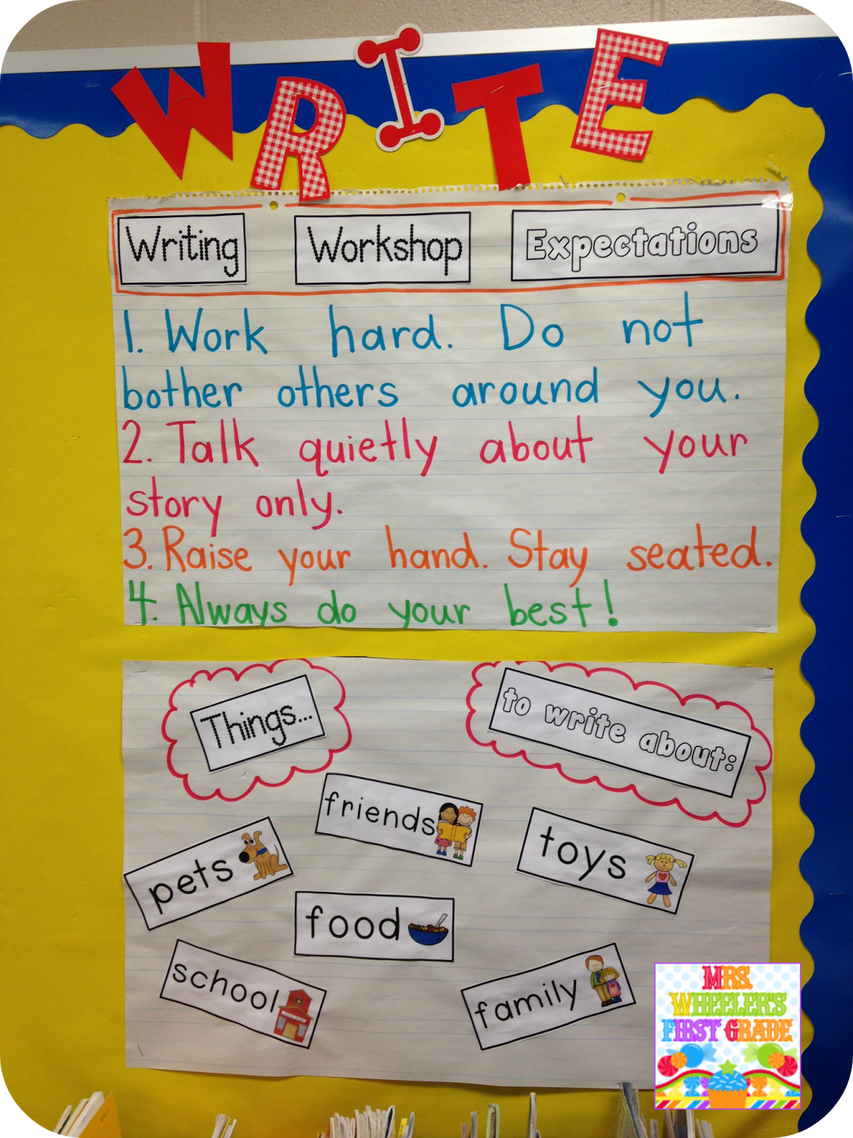 Mrs Wheeler S First Grade Tidbits Writing With Images