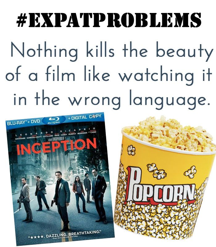 implications of watching foreign movies or