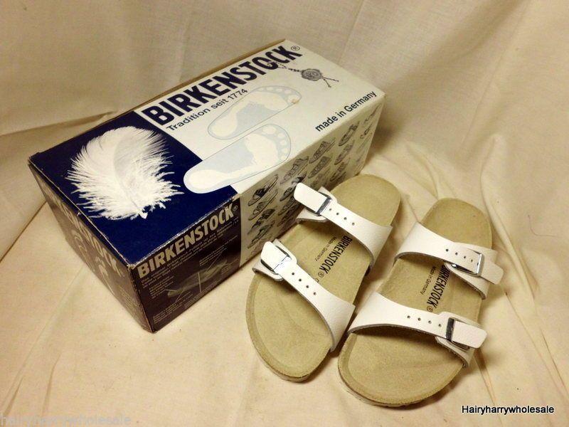 e615a6a8c69e ☆ Birkenstock Sydney in White Size 36 230 L5 Size 3 ☆