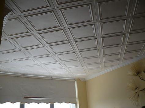 "Styrofoam Decorative Ceiling Tiles Line Art  Styrofoam Ceiling Tile  20""x20""  #r 24  Styrofoam"
