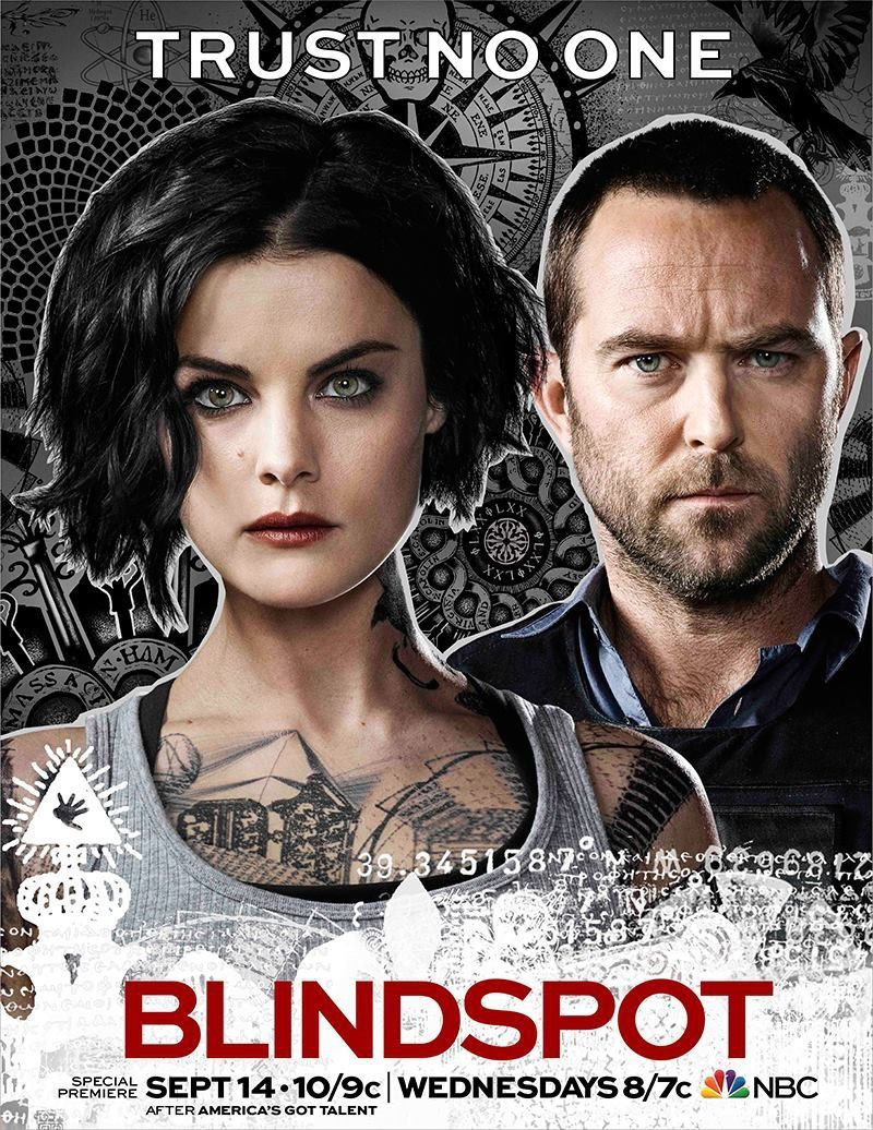 Blindspot Season 2 Poster Seat42f Blindspot Tv