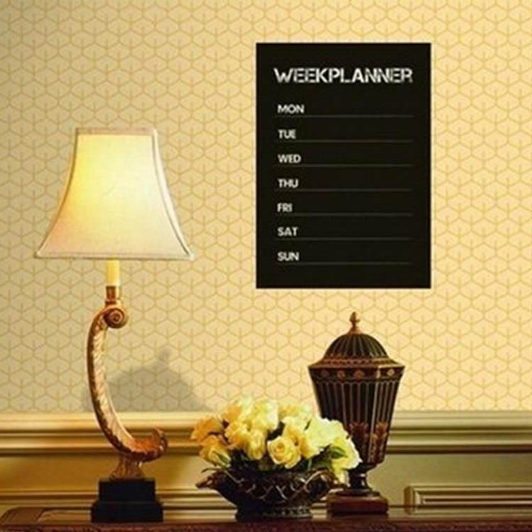 Removable Chalkboard Wall Sticker | Chalkboard walls and Products