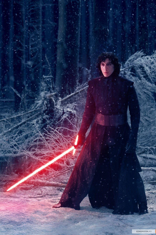 Kylo Ren - Adam Driver in 'Star Wars: The Force Awakens' (2015).