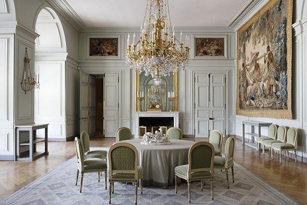Château royal de Rambouillet / Salle-à-manger Art - Louis XVI - salle a manger louis