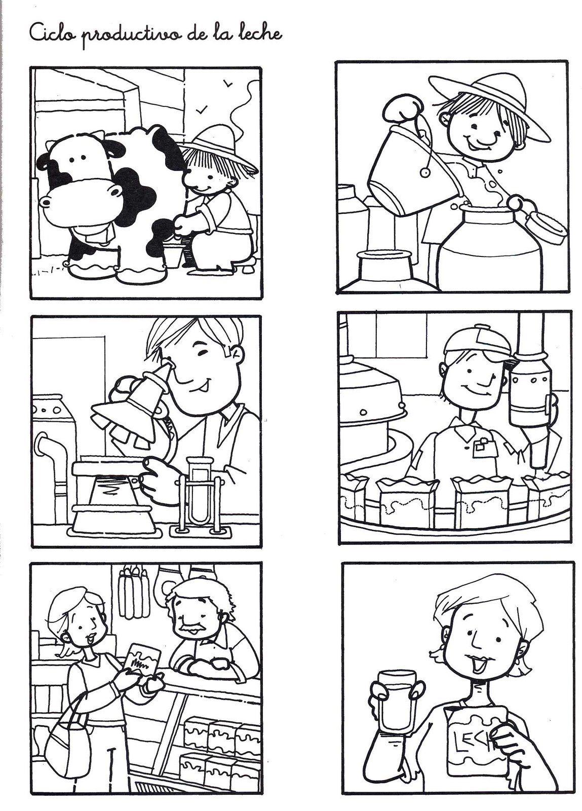 Circuito De La Leche : Fotó ciclo productivo de la leche fogalmazás school