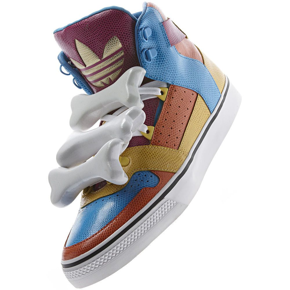 ADIDAS JEREMY SCOTT Bones Multicolor leather Shoes