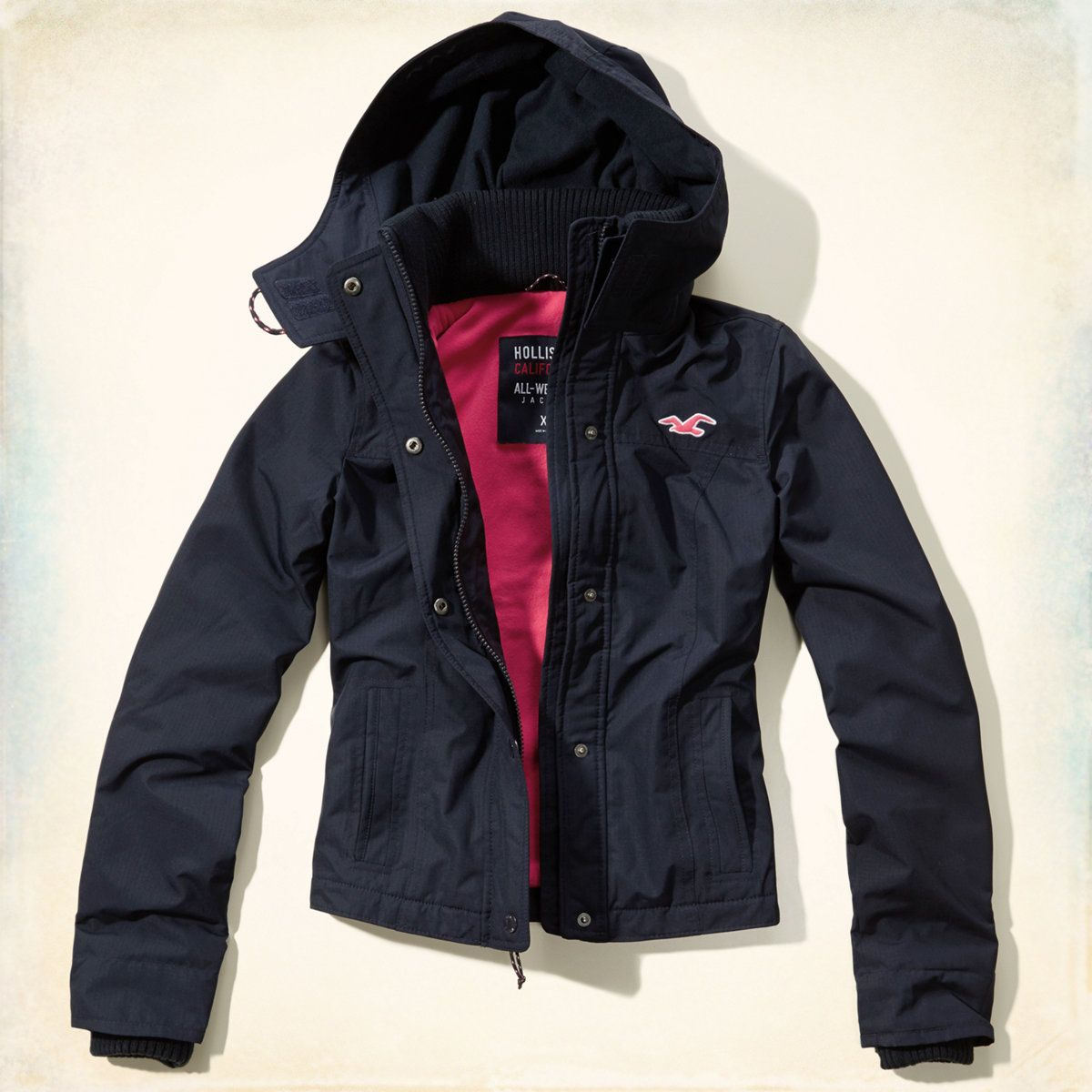 nouveau style 3fe9a 9ad67 Girls The Hollister All-Weather Jacket | Girls Jackets ...
