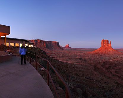 The View Hotel In Monument Valley Az Each Room Has A Incredible