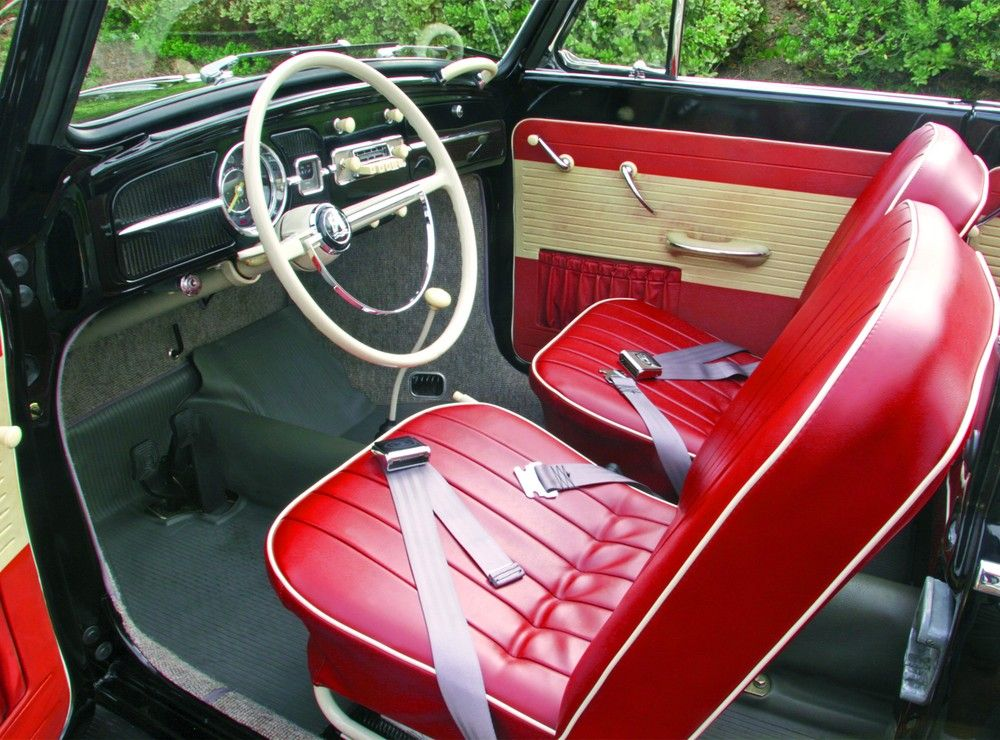 driving impression 1960 volkswagen beetle vw interiors and beetles. Black Bedroom Furniture Sets. Home Design Ideas