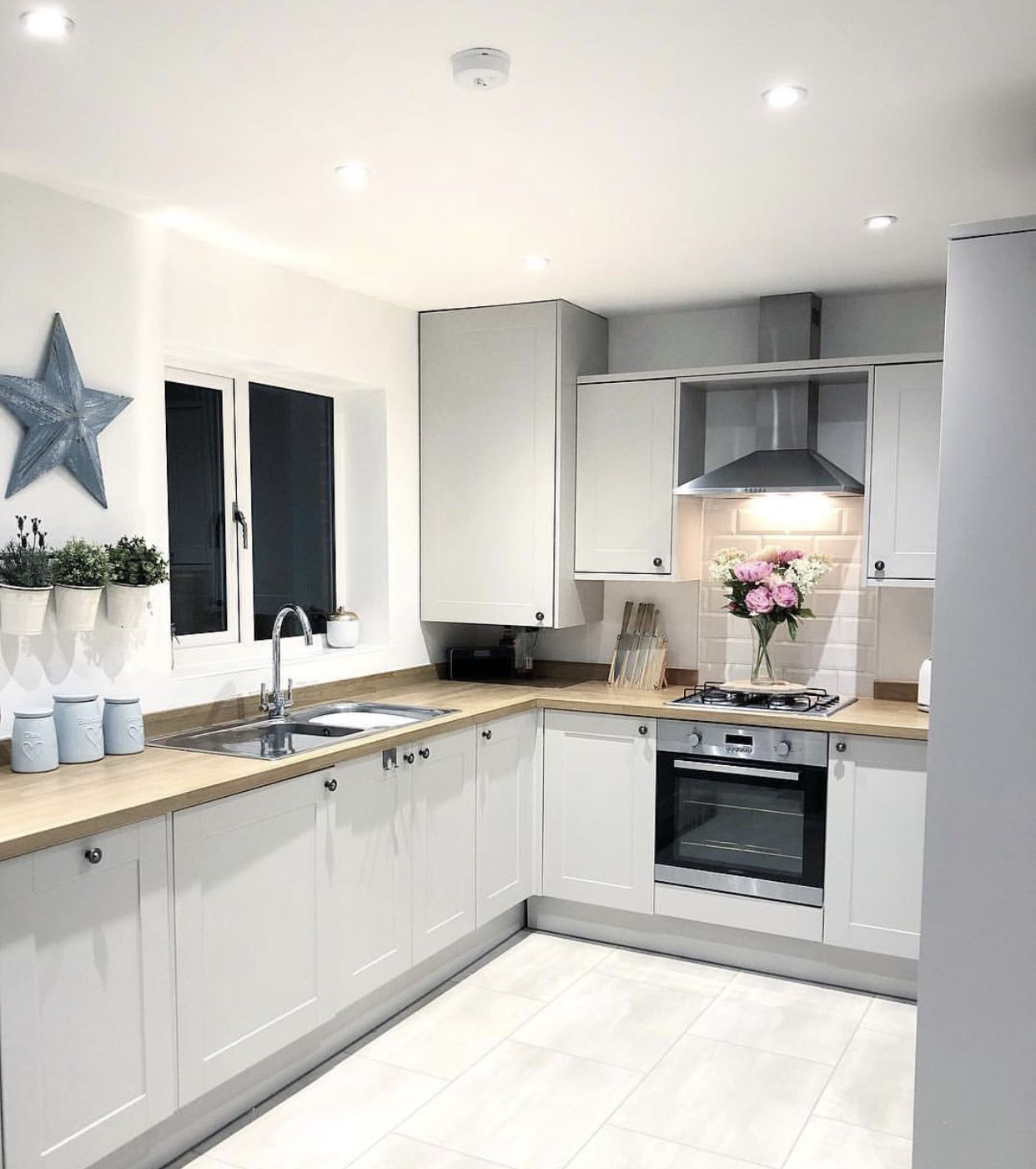 Find Cool L Shaped Kitchen Design For Your Home Now Open Plan