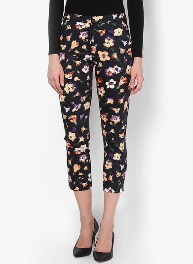 Buy Miss Selfridge Floral Cigarette Trouser for Women Online India, Best Prices, Reviews | MI479WA76WAHINDFAS