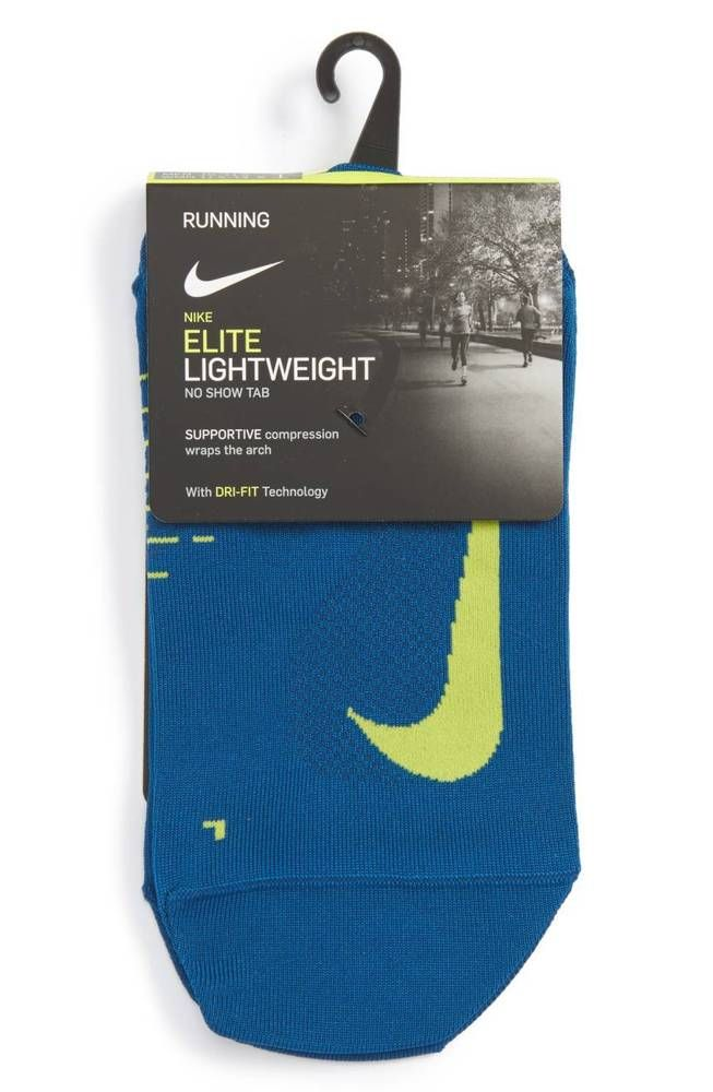 5ca7b687 NIKE Elite Lightweight No-Show Tab Running Socks sz S Small (5.5-7) Teal # Nike #Athletic