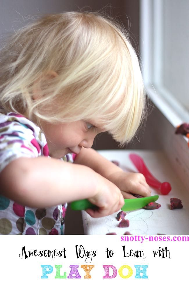 Awesome Ways to Learn with Play Doh