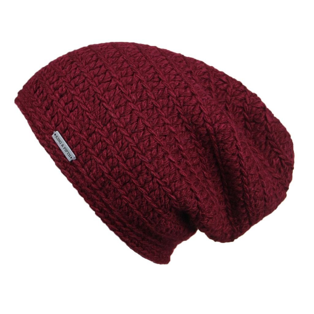 6769d7fbe51ea0 Description - Specs - Washing - Mens Slouchy Beanie - This over-sized beanie  is a King & Fifth classic, sure to become your new favorite.
