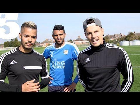 Riyad Mahrez & The F2 - Tekkers & Skills | #5 Players Lounge - YouTube