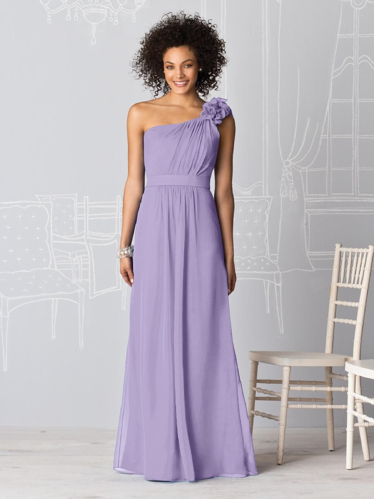 Long dresses for wedding party  After Six Bridesmaids Style   Lavender bridesmaid Wedding and