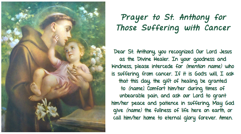 saint anthony personals Why is saint anthony the patron saint thus there often appear in the personals column against pestilence â ¢against saint anthony's fire.