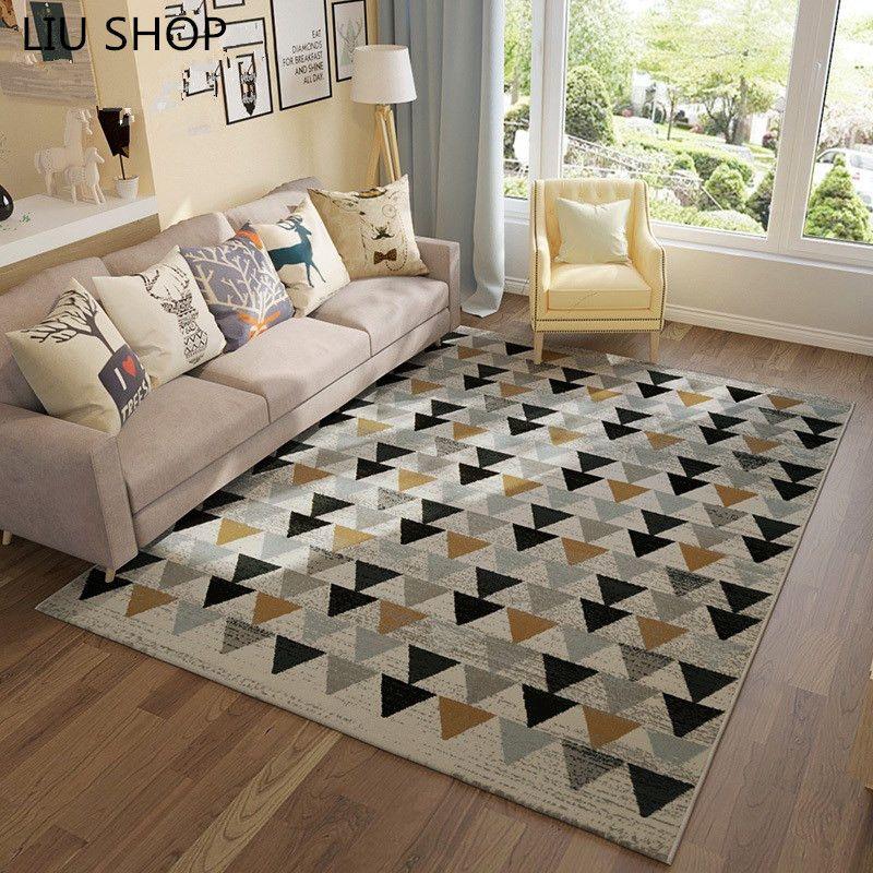 Liu nordic geometrische eenvoudige moderne woonkamer sofa ...