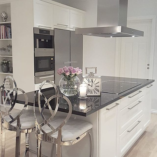 Jenny @jenngunor Instagram photos Websta Decoration Pinterest - Cocinas Integrales Blancas