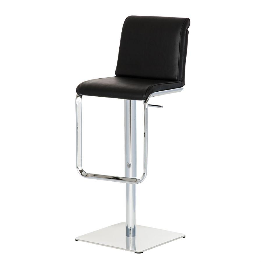 Avis Sur Le Site Home24 tabouret de bar maura - cuir synthétique noir | bar stools