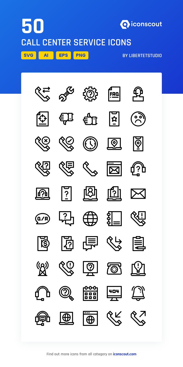Download Call Center Service Icon Pack Available In Svg Png Eps Ai Icon Fonts Icon Pack Call Center Internet Icon