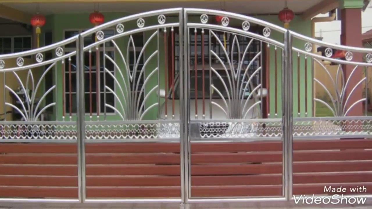 50 Nice Looking Main Gate Design Idea for Your House ...