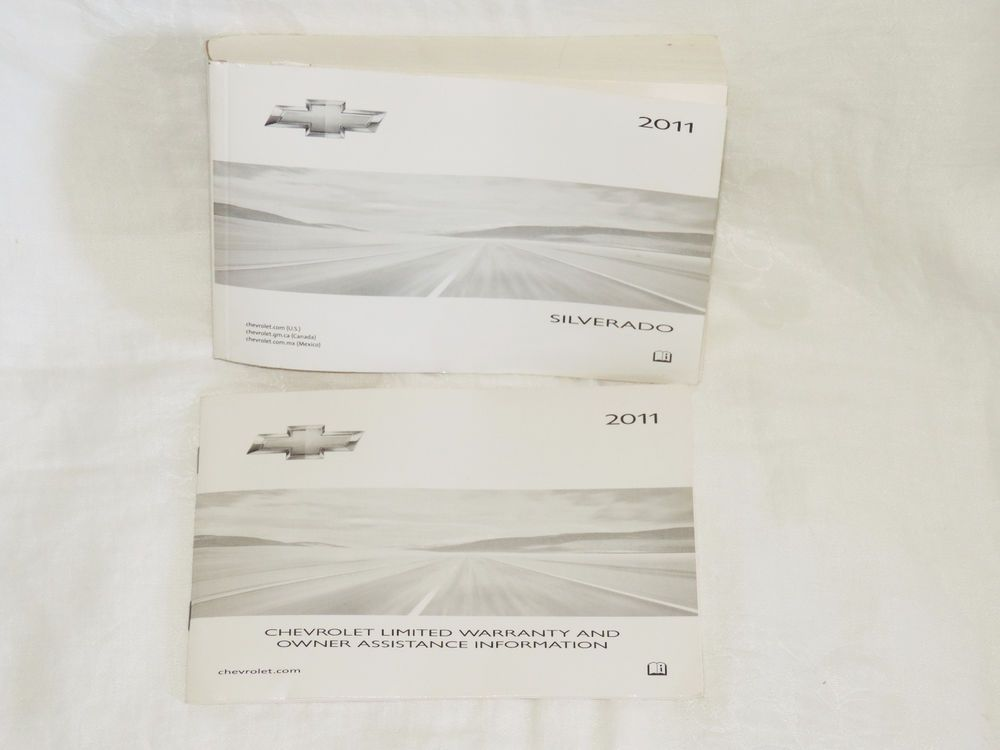2011 Chevy Silverado Owners Manual And Warranty Info Booklet Owners Manuals 2011 Chevy Silverado Chevy