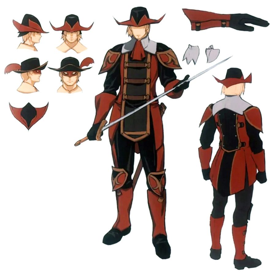 Red Mage Concept Art From Final Fantasy Xi Cartoon Drawings
