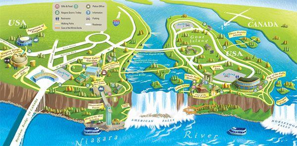 Niagara Falls State Park Map Niagara Falls State Park Map | Niagara USA | Travel   Toronto  Niagara Falls State Park Map