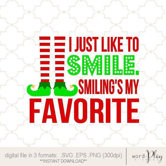 Elf Quotes Smiling: Pin By Lori Gosselin On Cricut Vinyl