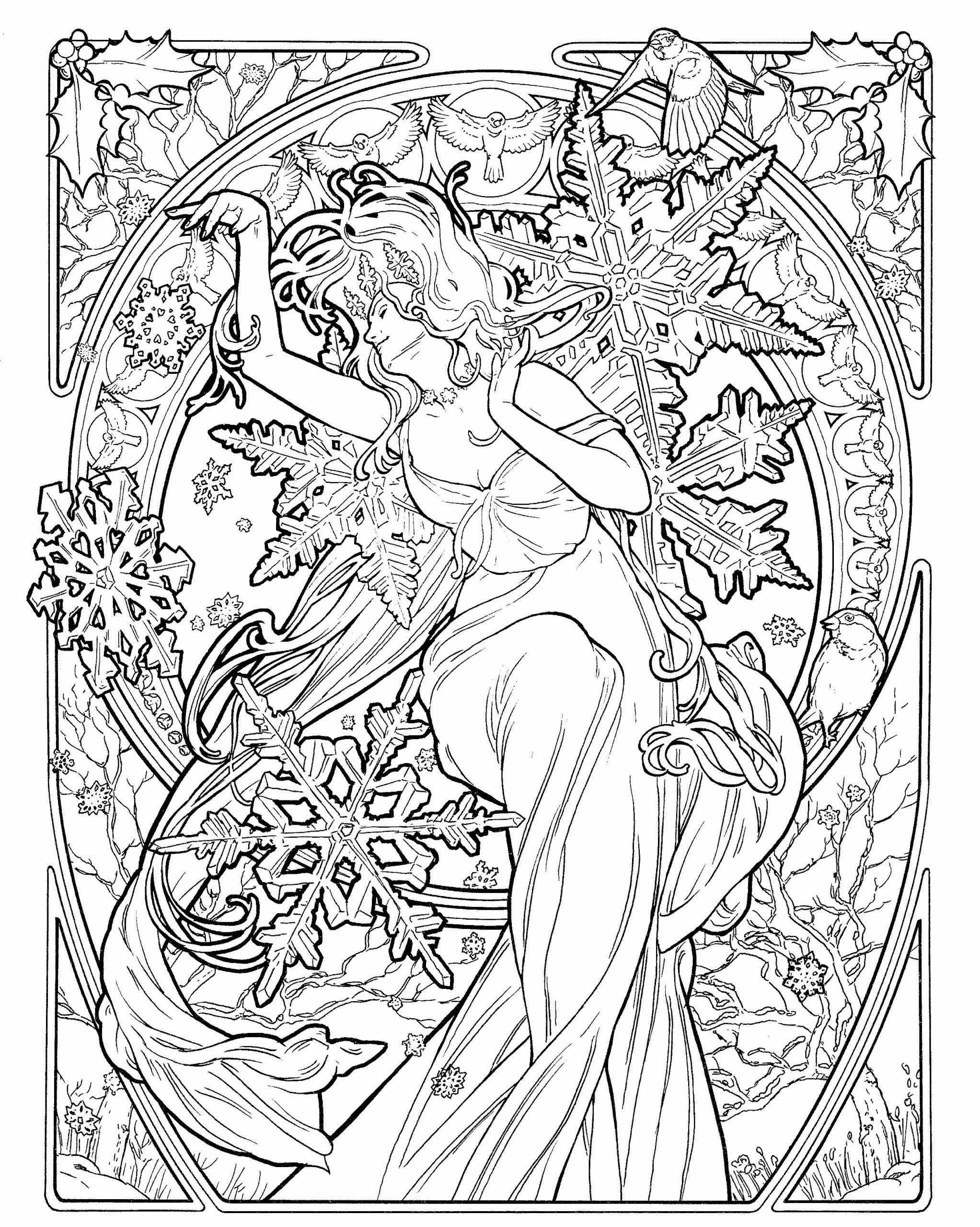 Art Coloring Pages For Adults New Pin By Brenda Mendenhall On Art I Like Fairy Coloring Abstract Coloring Pages Coloring Pages