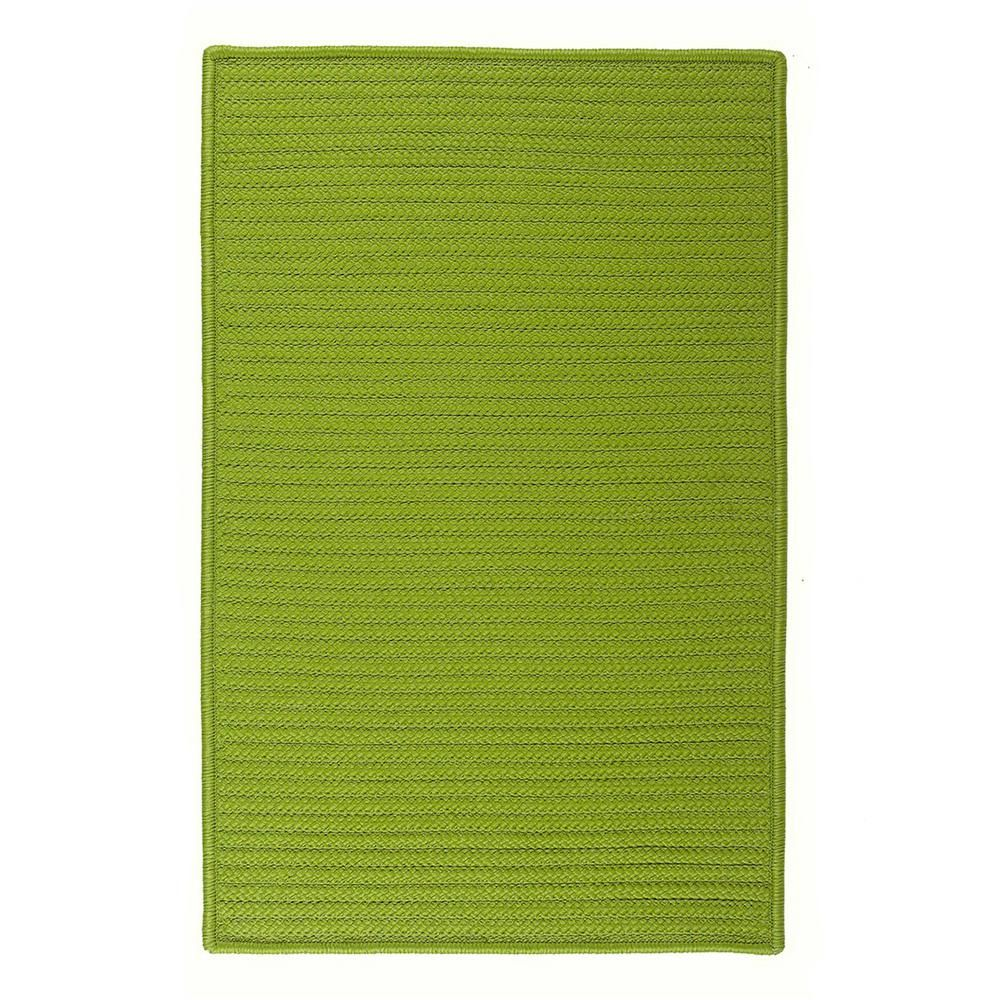 Home Decorators Collection Solid Bright Green 7 Ft X 9 Ft Indoor Outdoor Braided Area Rug Solid Area Rugs Synthetic Rugs Home Decorators Collection