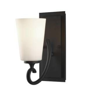 Check out the Murray Feiss VS16501-BK Peyton 1 Light Vanity Fixture in Black priced at $69.00 at Homeclick.com.
