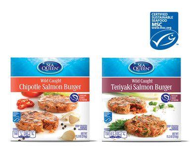 Sea Queen Salmon Burgers | Budget Bites | Salmon burgers