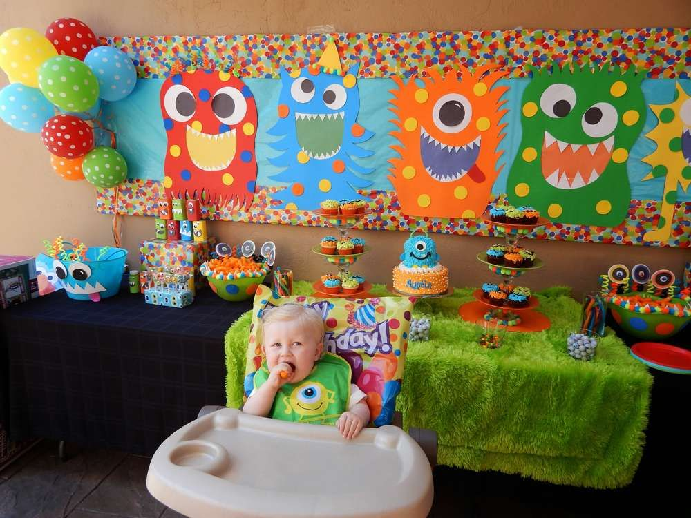 Monsters Birthday Party Ideas Birthday party ideas Monsters and