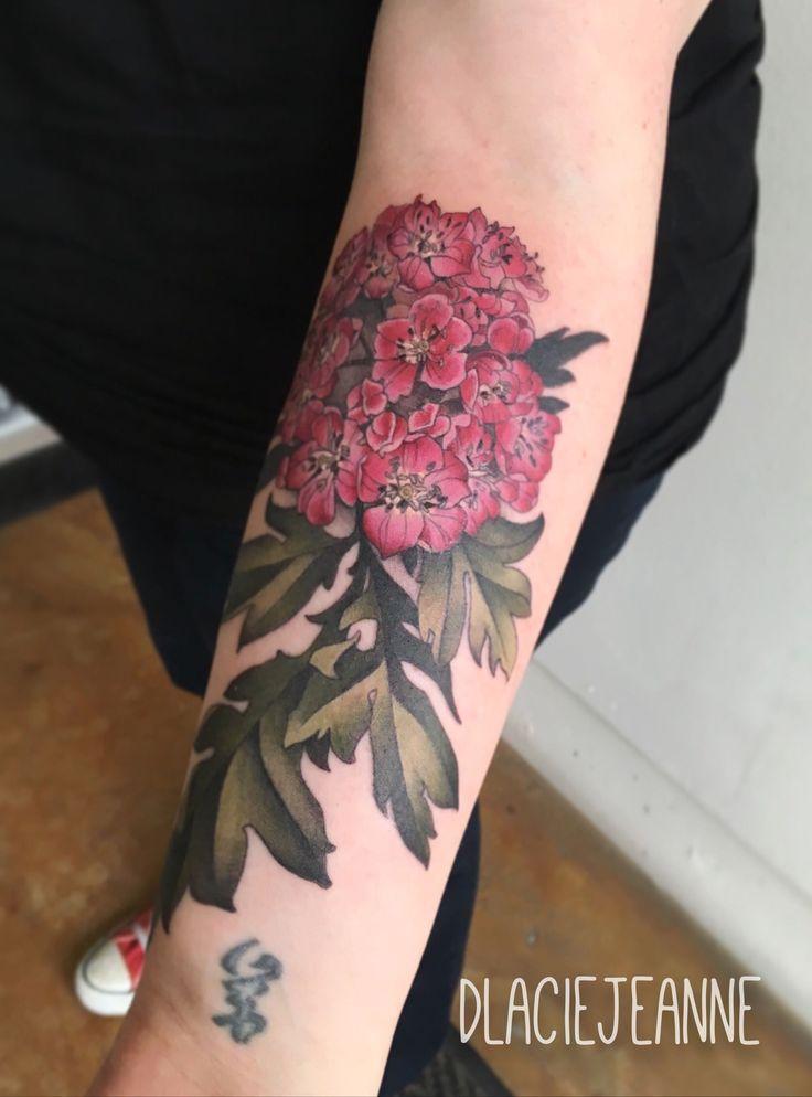 Hawthorn tattoo by dlacie jeanne ona portland or